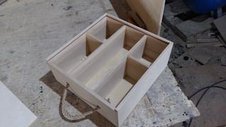 Подарочный ящик для бутылок