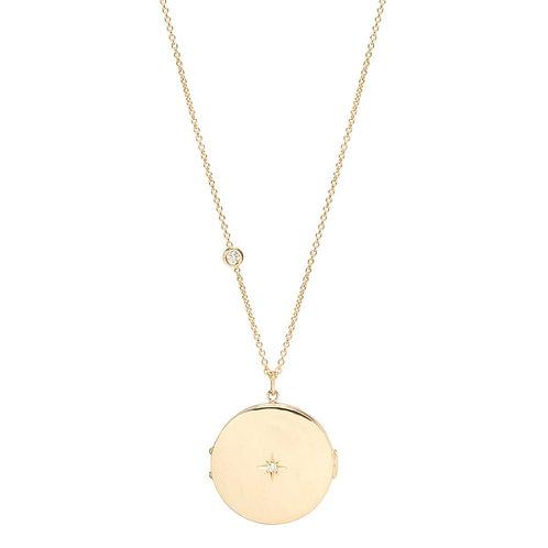 Zoë Chicco Locket Necklace