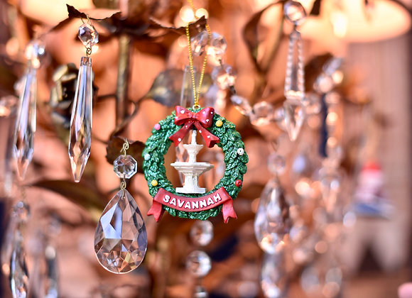 Christmas in Forsyth Ornament