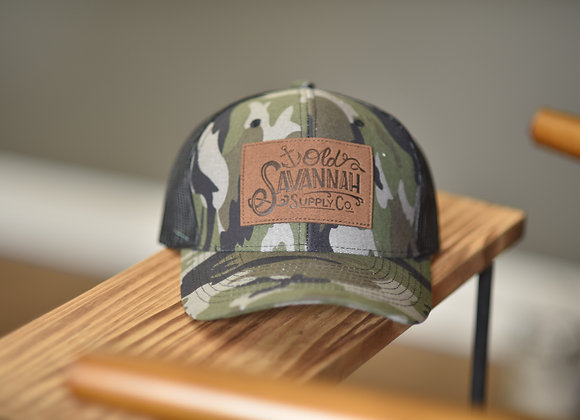 Savannah Supply Co. Suede Patch Hat