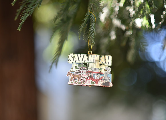Savannah Mural Ornament