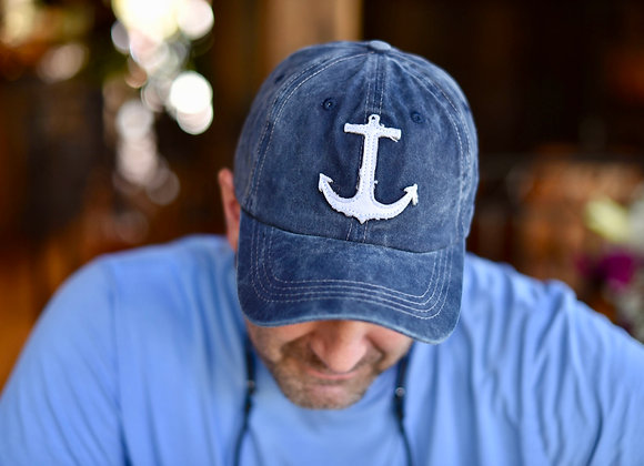 Anchor Denim Washed Hat