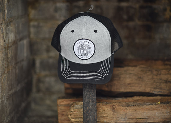 Savannah Line Art Badge Mesh Hat