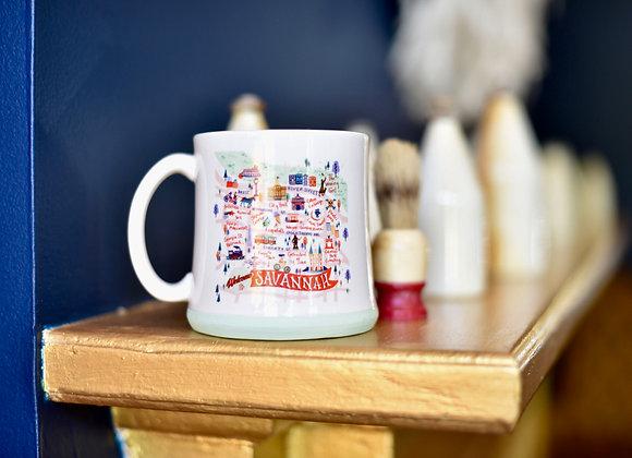 Map Café Mug