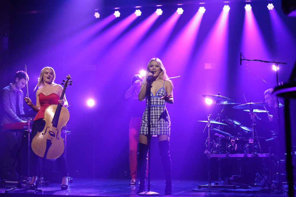 Zara Larsson The Tonight Show