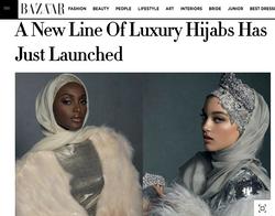 Haute Hijab x Harper's Bazaar Arabia