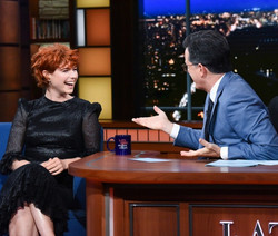 Jessie Buckley x The Late Show