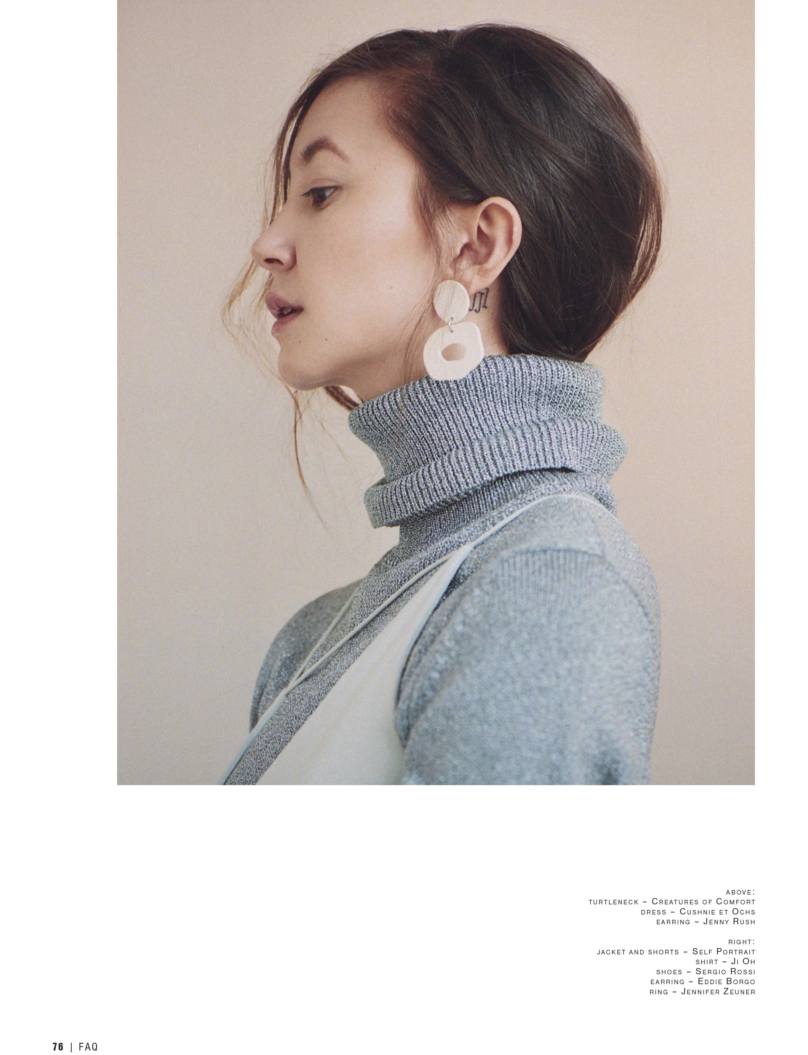 Kimiko Glenn x FAQ Mag October 2017