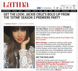 Jackie Cruz LATINA.com