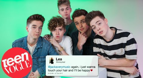 WHY DON'T WE Teen Vogue Oct 2017