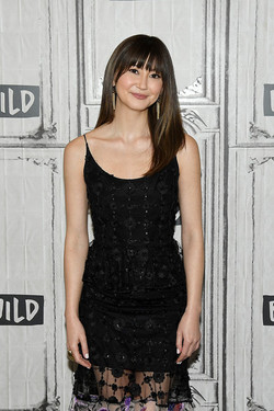 Kimiko Glenn Spiderverse Press Day