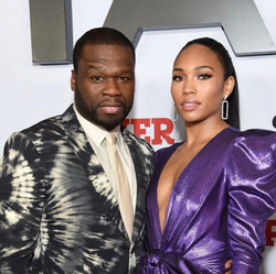 50 Cent & Jamira attend the  Power Premi