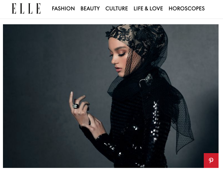 Haute Hijab x Elle.com USA
