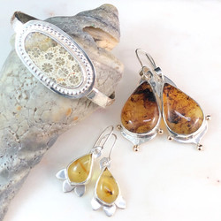 Cuff and Earrings