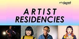 artsdepot Artists Residency