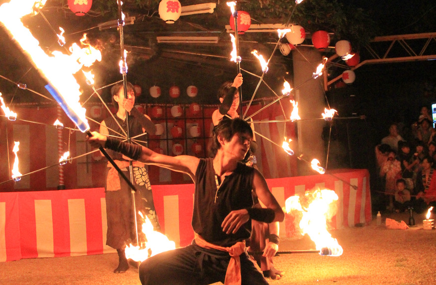 フィナーレ@ほたる祭り.JPG