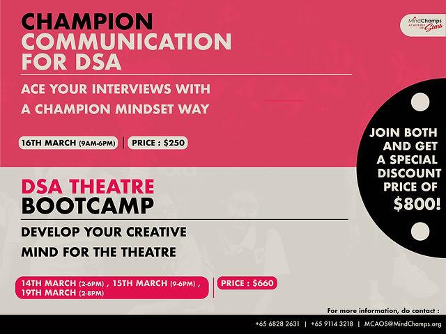 (FINAL)DSA BootCamp & Comms Workshop fin