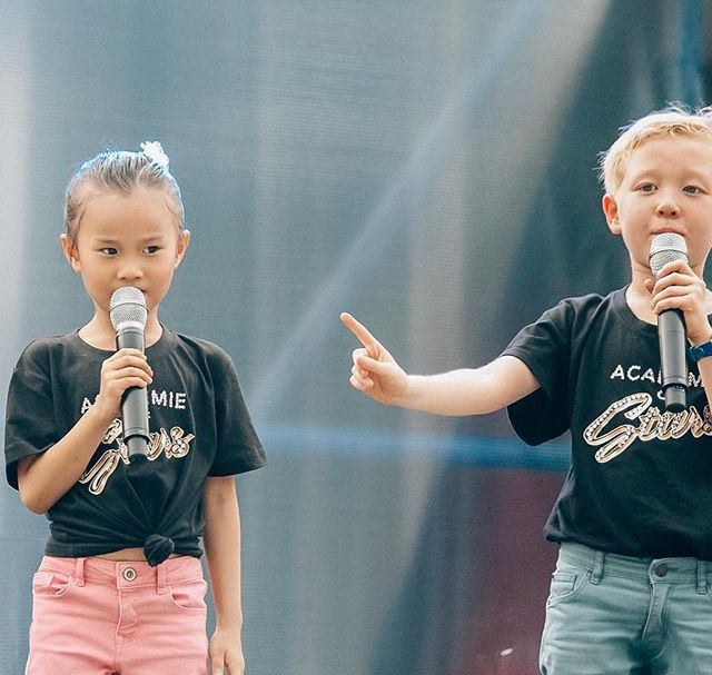 The youngest hosts of Academie of Stars