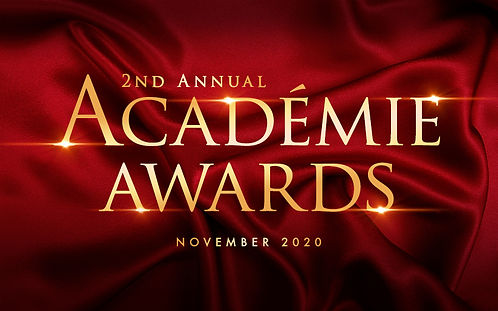 2nd Annual ACADEMIE AWARDS 2020 Artwork.