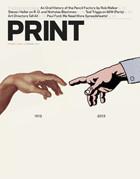 PRINT magazine cover february 2013