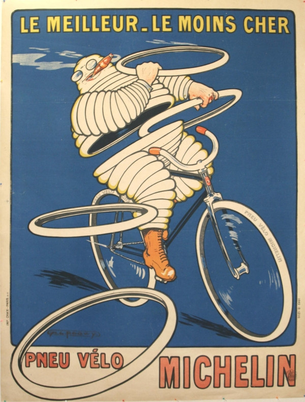 H.L. Roowy, Pneu Vélo Michelin