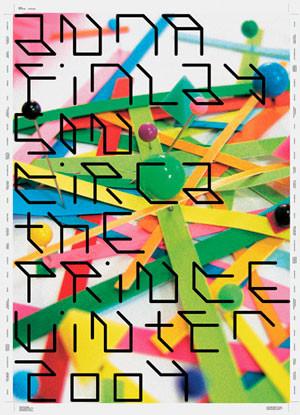 David Pidgeon, Anna Finlayson Exhibition Poster (2004)