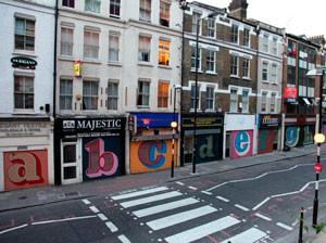 Ben Eine, A-Z Alphabet Street