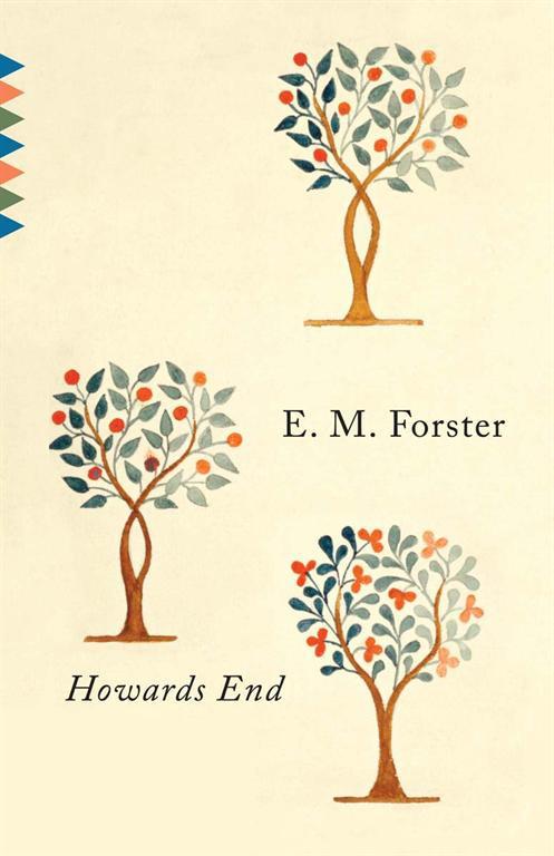 Book cover for Howards End, designed by Vintage associate art director Megan Wilson