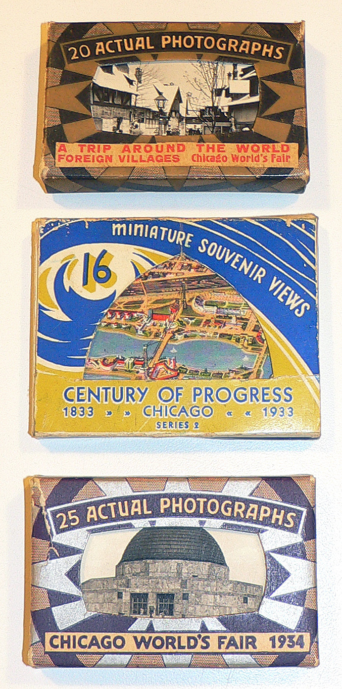 Miniature boxed photo sets