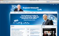Netanyahu's website.
