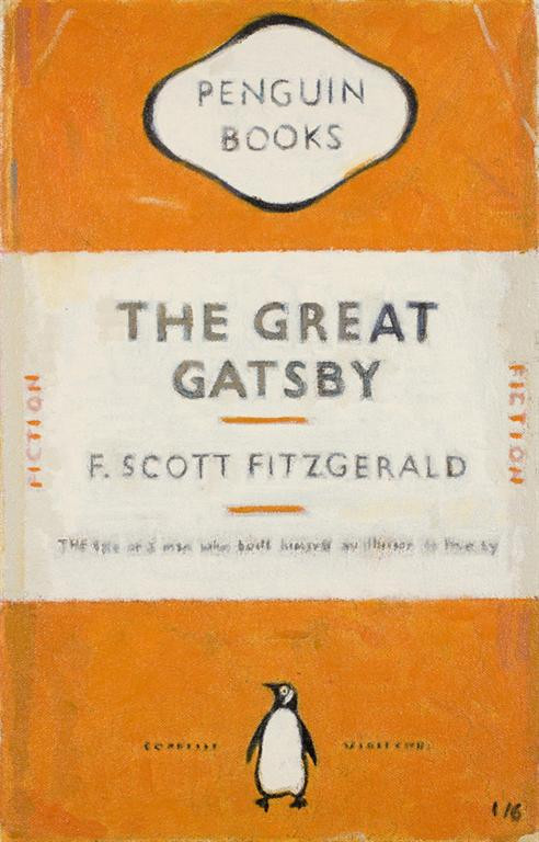 The Great Gatsby, 2008 book cover