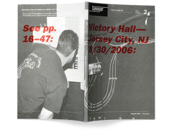 Front and back cover of Conveyer No. 2, Summer 2007.