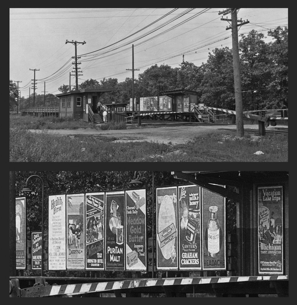 Northeast view of Isabella stop, Evanston, IL
