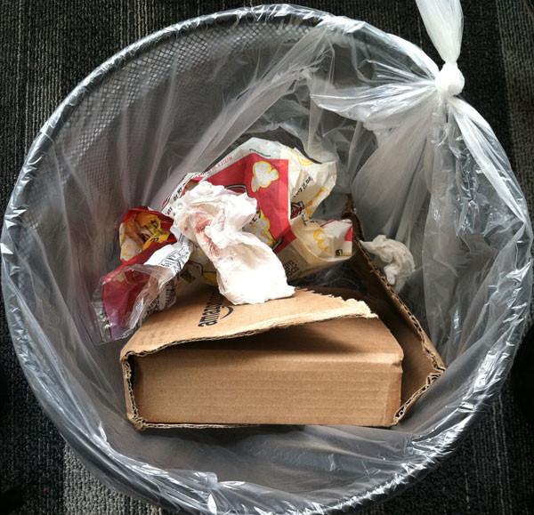 Orville Redenbacher's bag, New York City
