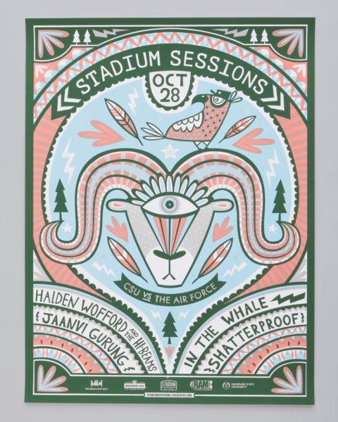 Stadium Sessions Poster Series