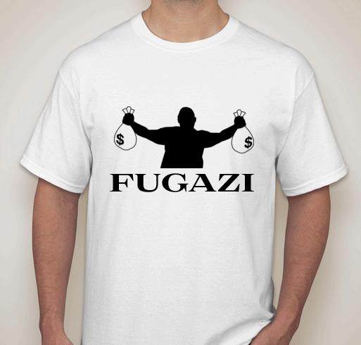 Fugazi T-shirt by Patrick Satterfield