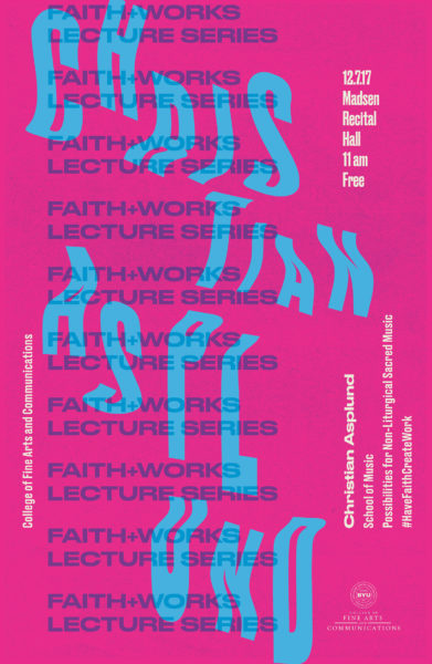 Faith + Works Lecture Series