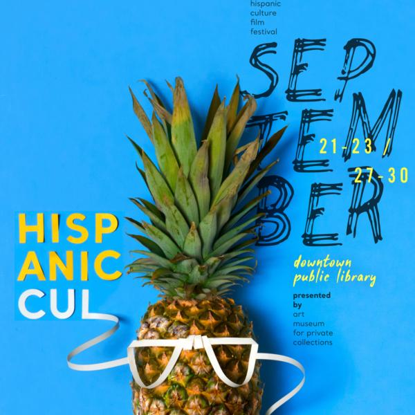 Hispanic Culture Film Fest Identity