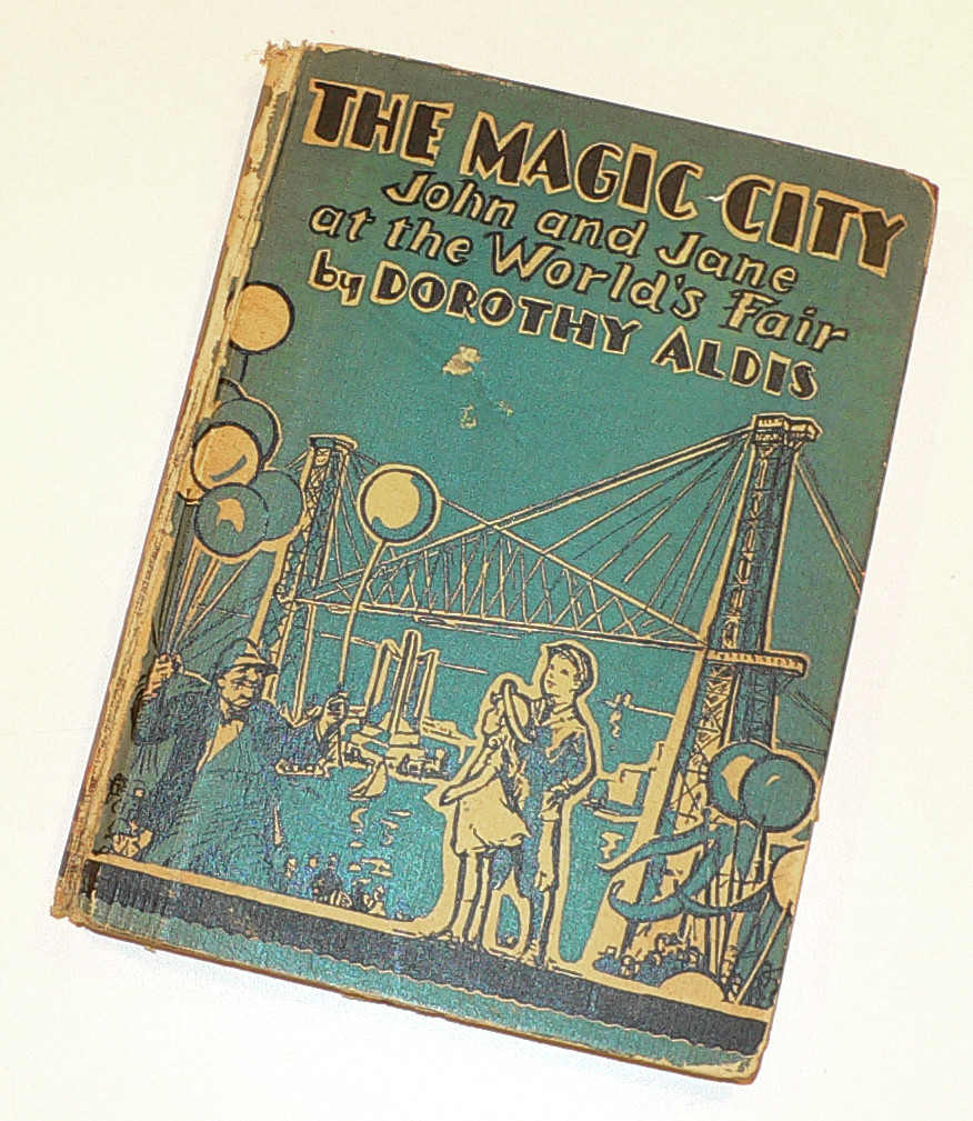 """The Magic City"" with illustrations by Margaret Freeman."