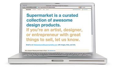 Supermarket, an e-commerce web application and curated catalog.