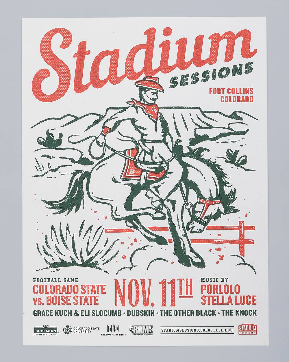 Stadium Sessions Poster Series