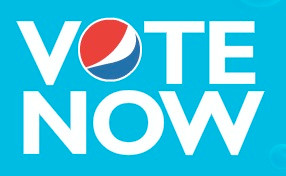 Vote now Pepsi logo
