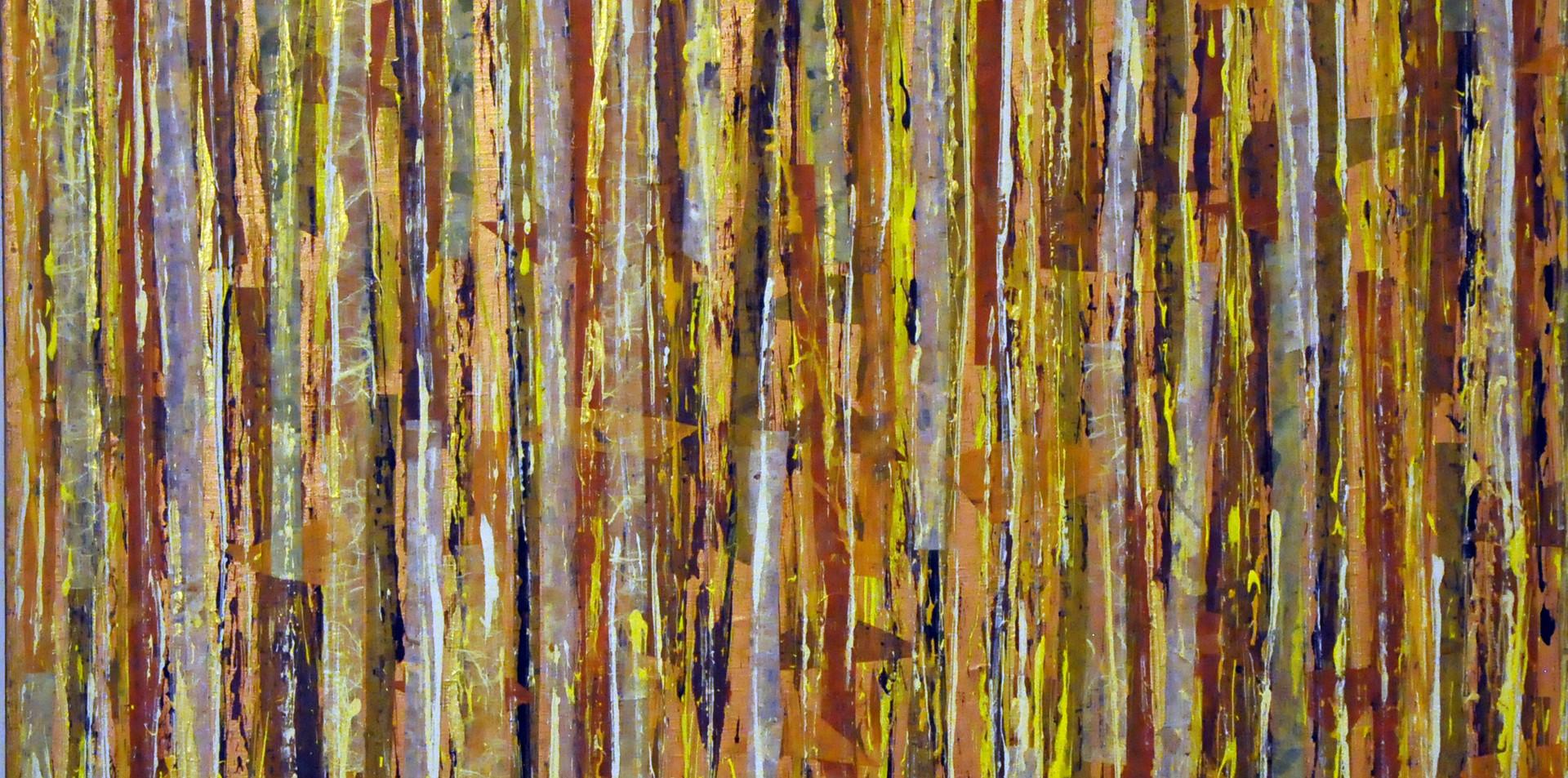 """Bialowieza Wood IV (30""""x30"""")"""