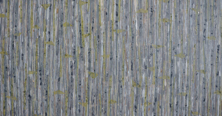 """Blue Spruce Forest (36""""x60"""")"""