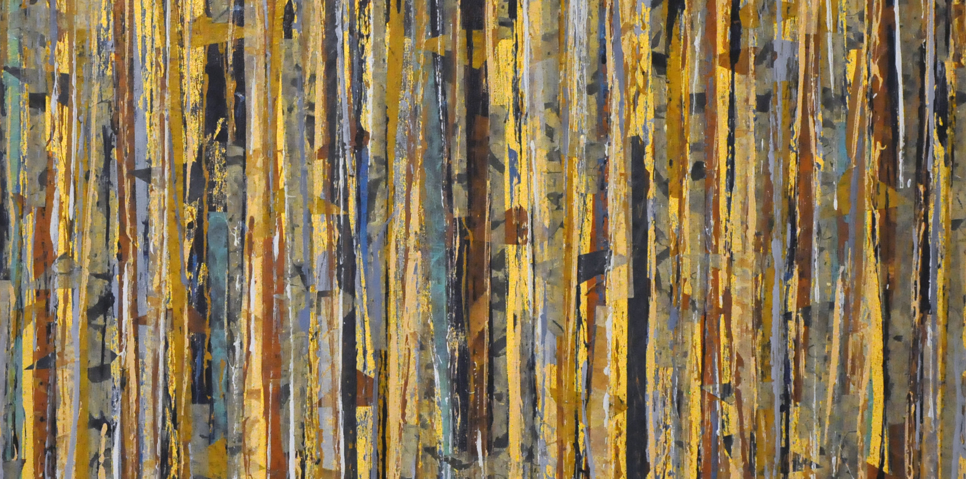 """Kologha Forest II (30""""x30"""")"""