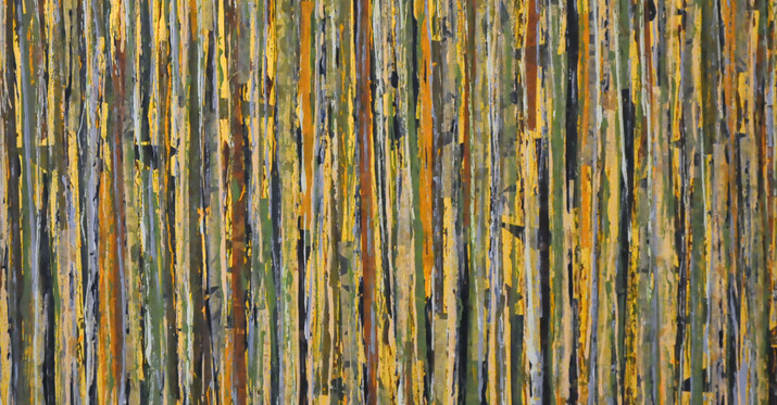 "El Yunque Rainforest III (36""x36"")"