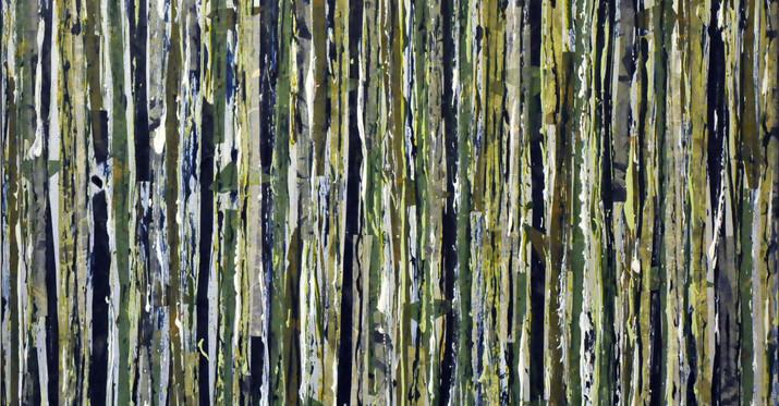 """Alpine Forest I (30""""x30"""")"""