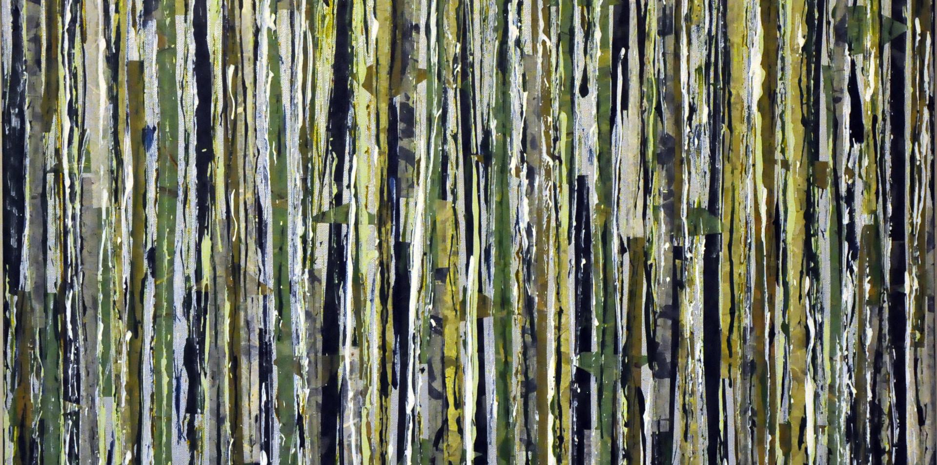 """Alpine Forest III (30""""x30"""")"""