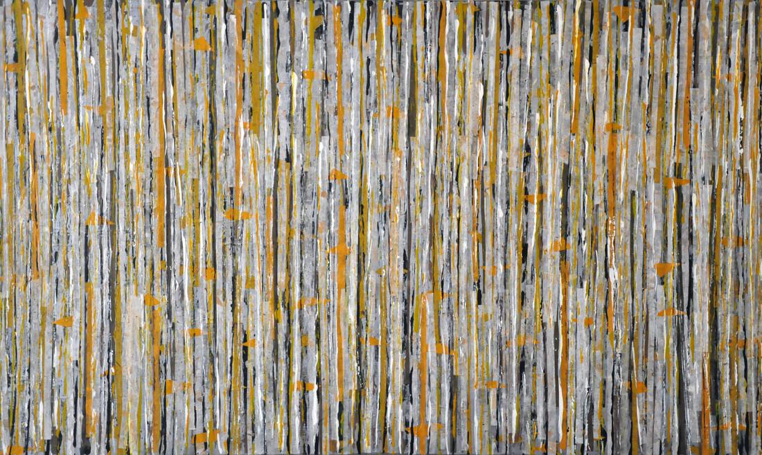 """Autumn Birch Forest (36""""x60"""")"""