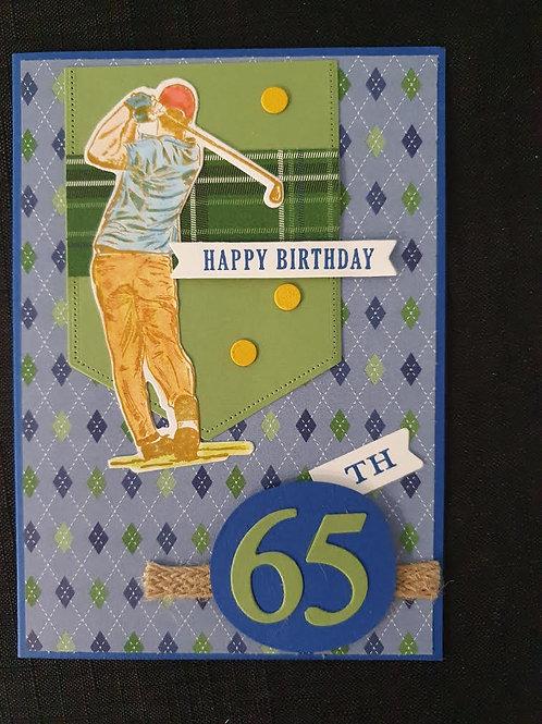 65th Golf Birthday